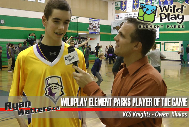 WildPlay Element Parks Player of the Game